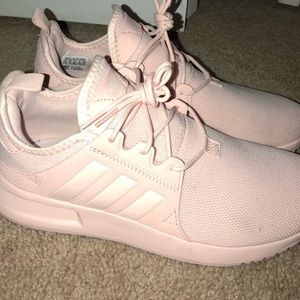EUC Adidas sneakers baby pink